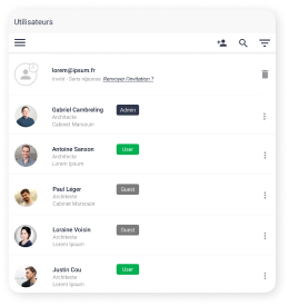 BIM-Viewer : Laden Sie Benutzer, Gästen und Projektleiter zu Ihren BIM-Projekten ein