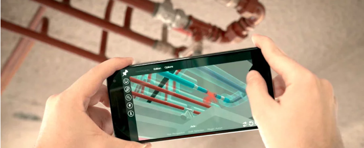 3rd reason to adopt BIM within the CMMS: Augmented reality